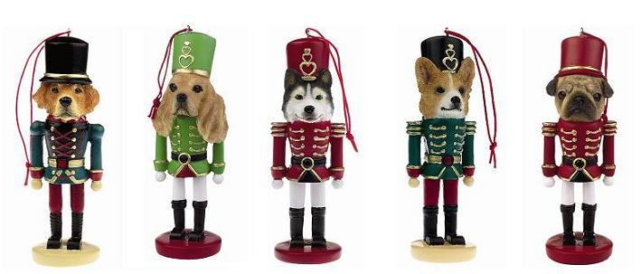 クリスマス,オーナメント,ドッグ,犬,フィギュア,コレクションン,ギフト,贈り物,プレゼント,ナットクラッカー,くるみ割り人形,